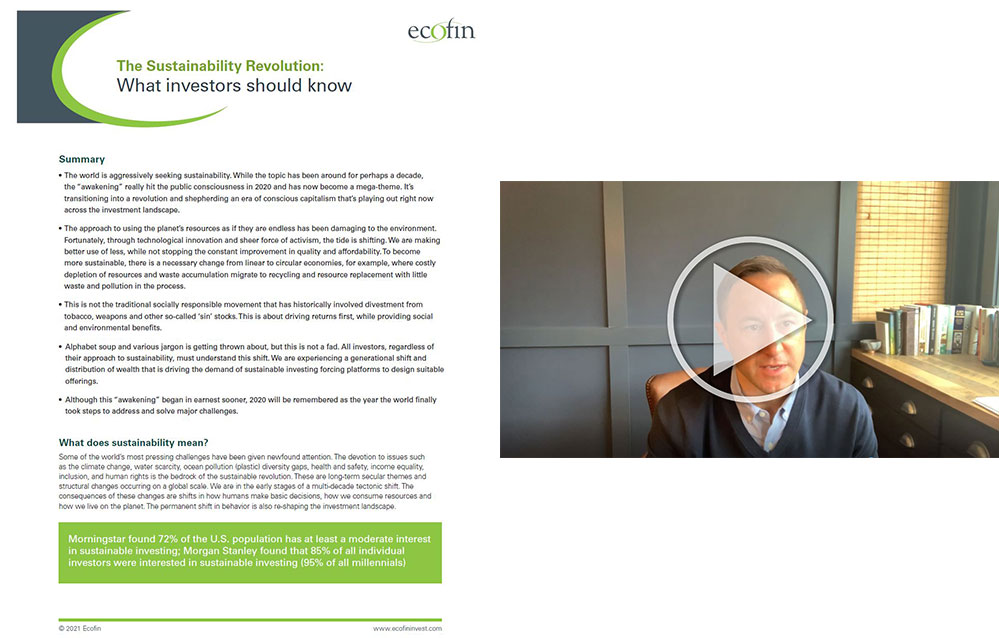 Insights image - The Sustainability Revolution: What investors should know